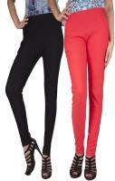 iHeart Women's Black, Pink Jeggings best price on Flipkart @ Rs. 749