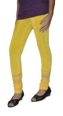 Srija's collection Women's Yellow Leggings