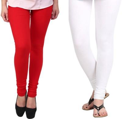 Vastra Buzz Women's Red, White Leggings