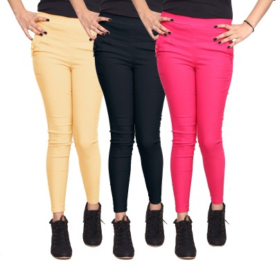 Ally The Creations Women's Multicolor Jeggings
