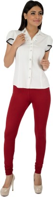 Legrisa Fashion Women's Maroon Leggings