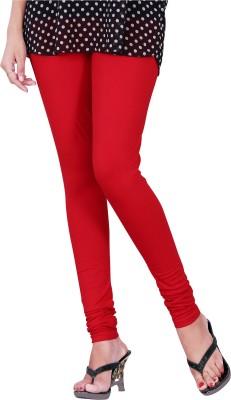 Trendif Women's Red Leggings