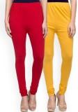 Umesh Fashion Women's Red, Yellow Leggin...