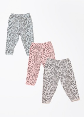 Day 2 Day Baby Girl's Grey, Blue, Pink Leggings