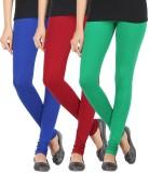Elance Women's Blue, Maroon, Green Leggi...