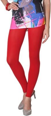 VP Vill Parko Women's Red Leggings