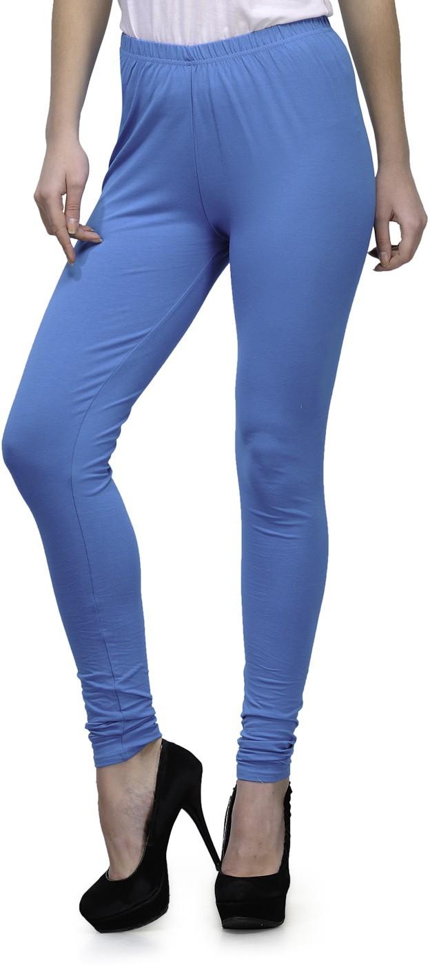 Ffu Womens Light Blue Leggings