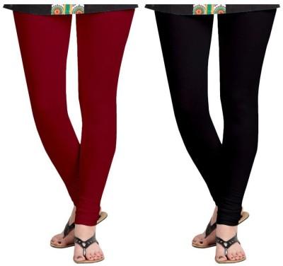 Roshni Creations Women,s Red, Black Leggings