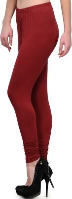 MeritFashion Women's Maroon Leggings