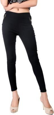 Bottoms More Women's Black Leggings