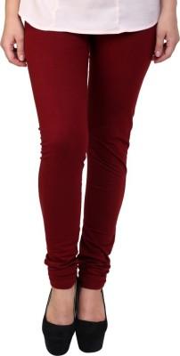 Charu Boutique Women's Maroon Leggings