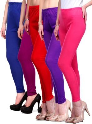 Rowena Women's Blue, Purple, Red, Purple, Pink Leggings