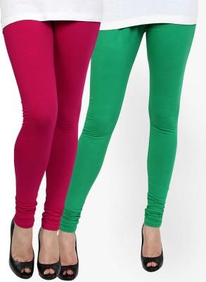 Zavlin Women's Purple, Green Leggings
