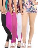 Be-Style Women's Multicolor Leggings (Pa...