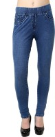 Westwood Women's Blue Jeggings best price on Flipkart @ Rs. 899