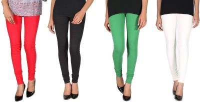Ally Of Focker Women's Red, Black, Green, White Leggings