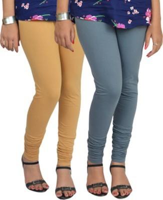 shivam Garments Women's Grey Leggings
