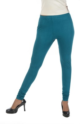 Crezyonline Women's Dark Green Leggings