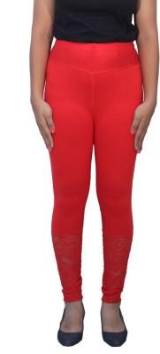 Romano Women's Red Leggings
