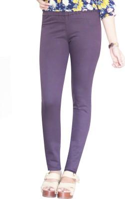 Dragaon Women's Purple Jeggings