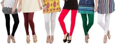 Prekrasna Women,s Black, Maroon, Beige, Red, Green, White Leggings