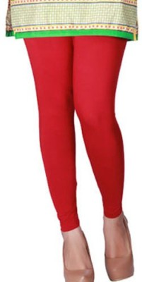 Adhyanvi Women's Red Leggings