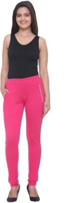 Mijaaz Women's Pink Jeggings
