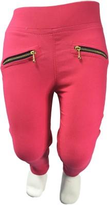 StyloFashionGarments Girl,s Pink Jeggings