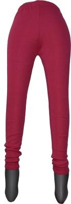 Yumlookup Women's Red Leggings