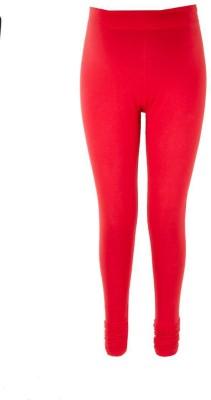 Kriti Ethnic Maternity Women's Maternity Wear Red Leggings
