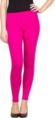 SareeGalaxy Women's Pink Leggings