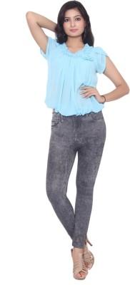 Addaa Women's Grey Jeggings