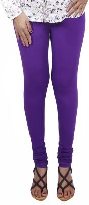 Roopsi Women's Purple Leggings
