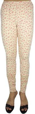 Bluedge Women's Beige, Red Leggings