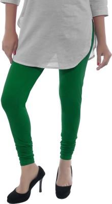Feminine Women's Dark Green Leggings