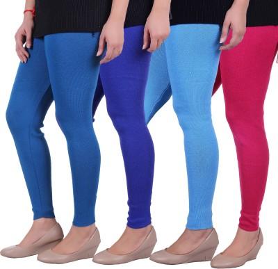Sellsy Women's Blue, Pink, Blue Leggings