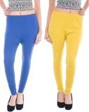 vernal Women's Blue, Yellow Leggings (Pa...