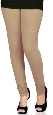 SareesHut Women's Beige Leggings