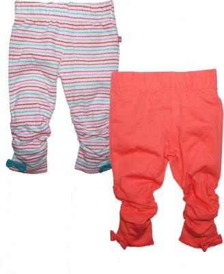 FS Mini Klub Baby Girl's Orange Leggings