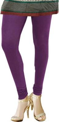 TBZ Women's Purple Leggings