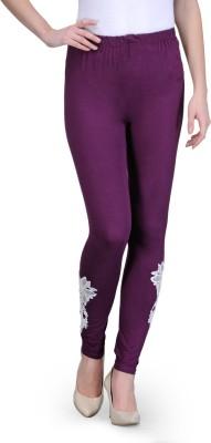 Vinnis Women's Purple Leggings