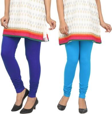 Agrima Fashion Women's Blue, Light Blue Leggings