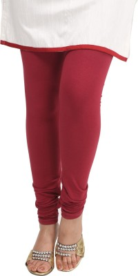 Sohniye Women's Maroon Leggings