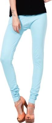 Adam n Eve Women's Blue Leggings