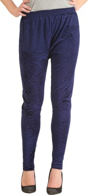 Gudluk Women's Blue Leggings