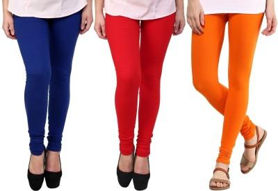 Legemat Girl,s Blue, Red, Orange Leggings