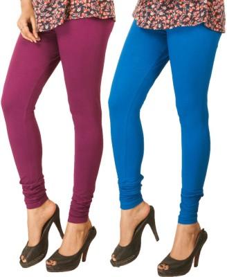 XCL Women's Purple, Blue Leggings