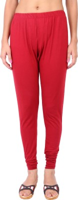 Shop & Shoppee Women's Maroon Leggings