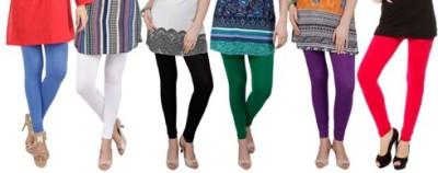 Prekrasna Women,s Blue, White, Black, Green, Purple, Red Leggings