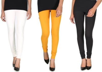 Ally Of Focker Women's Black, White, Yellow Leggings